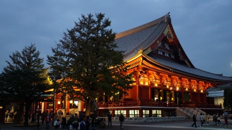 Tokio: Senso-ji-Tempel