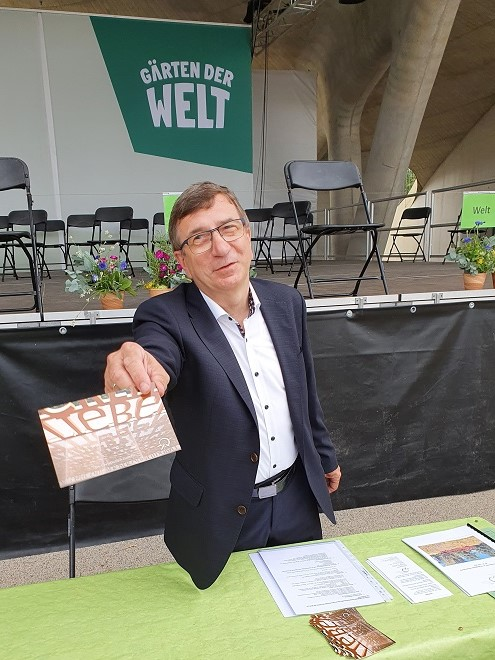 """Gerhard """"Pritzi"""" Pritzlaff, alter und neuer Vereinsvorsitzender"""